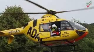 Schwerer Verkehrsunfall in Hagen-Haspe – Fußgänger lebensgefährlich verletzt – RTH im Einsatz