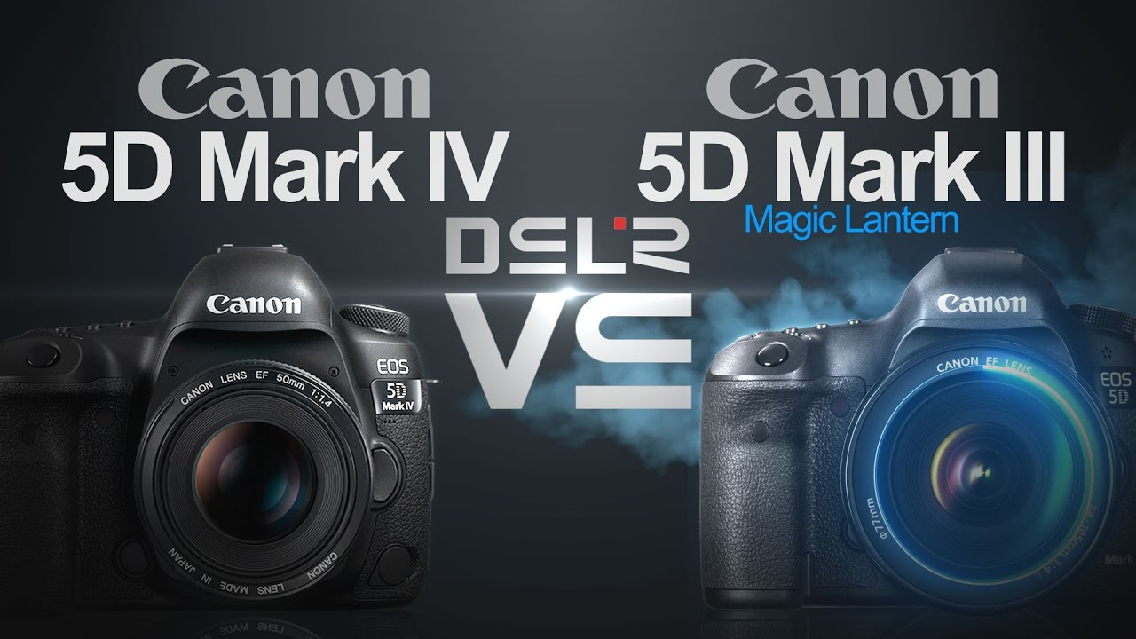 Canon EOS 5D Mark IV vs Canon EOS 5D Mark III (Magic Lantern)