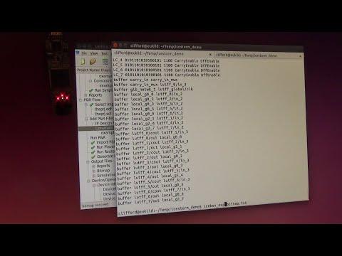 iCE40 (Lattice FPGA): Bitstream Format Reverse Engineered!