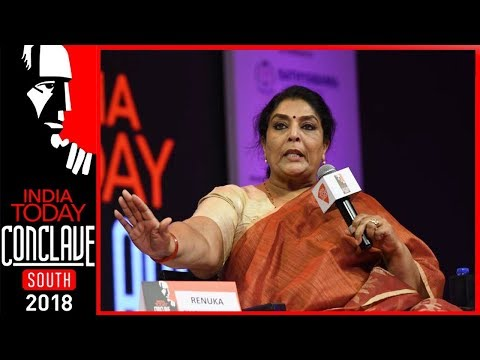 I Am Not Going To Waste My Claps On Modi, Says Renuka Choudhary | India Today Conclave South 2018