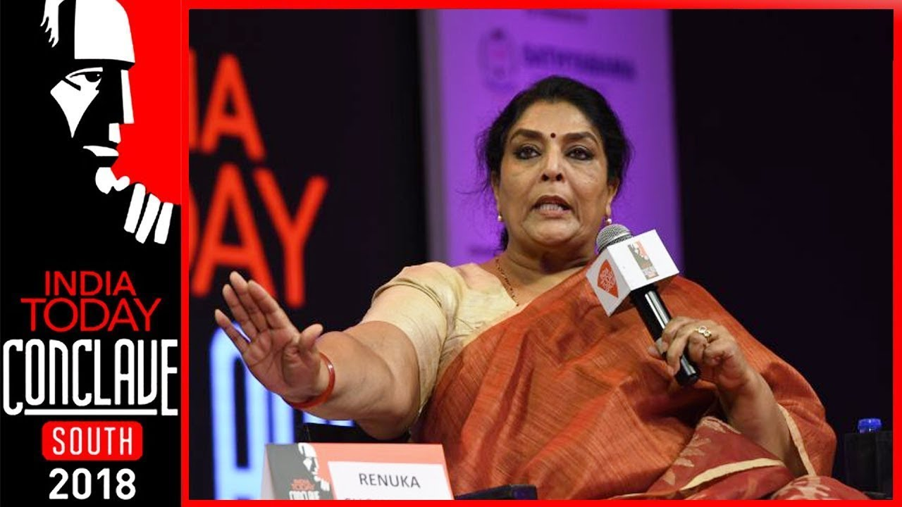 I Am Not Going To Waste My Claps On Modi, Says Renuka Choudhary | India Today Conclave South 2018 #1