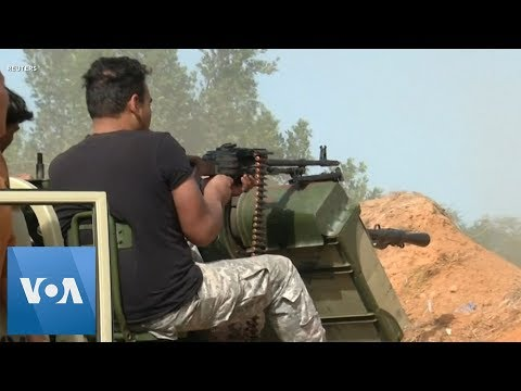 Heavy Clashes Erupt South of Tripoli