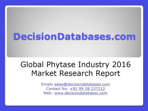 Global Phytase Market 2016:Industry Trends and Analysis