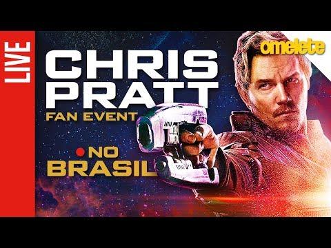 Vingadores: Guerra Infinita | Chris Pratt no Brasil AO VIVO!