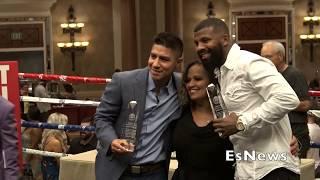 Nevada Boxing Hall Of Fame Awards Show Honoring Crawford, Holyfield, & Vargas 1EsNews Boxing
