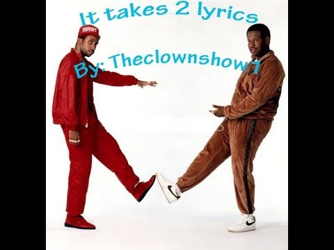 Rob Base and DJ E Z Rock - It takes two Lyrics On Screen