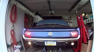65 Mustang 347 Startup