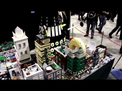 Sounthern Alberta Lego User Group's display at Calgary Expo, 2014