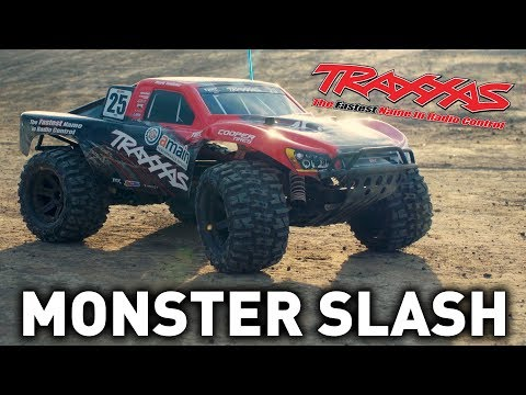 How To: Convert a Traxxas Slash 2WD to a Monster Slash!