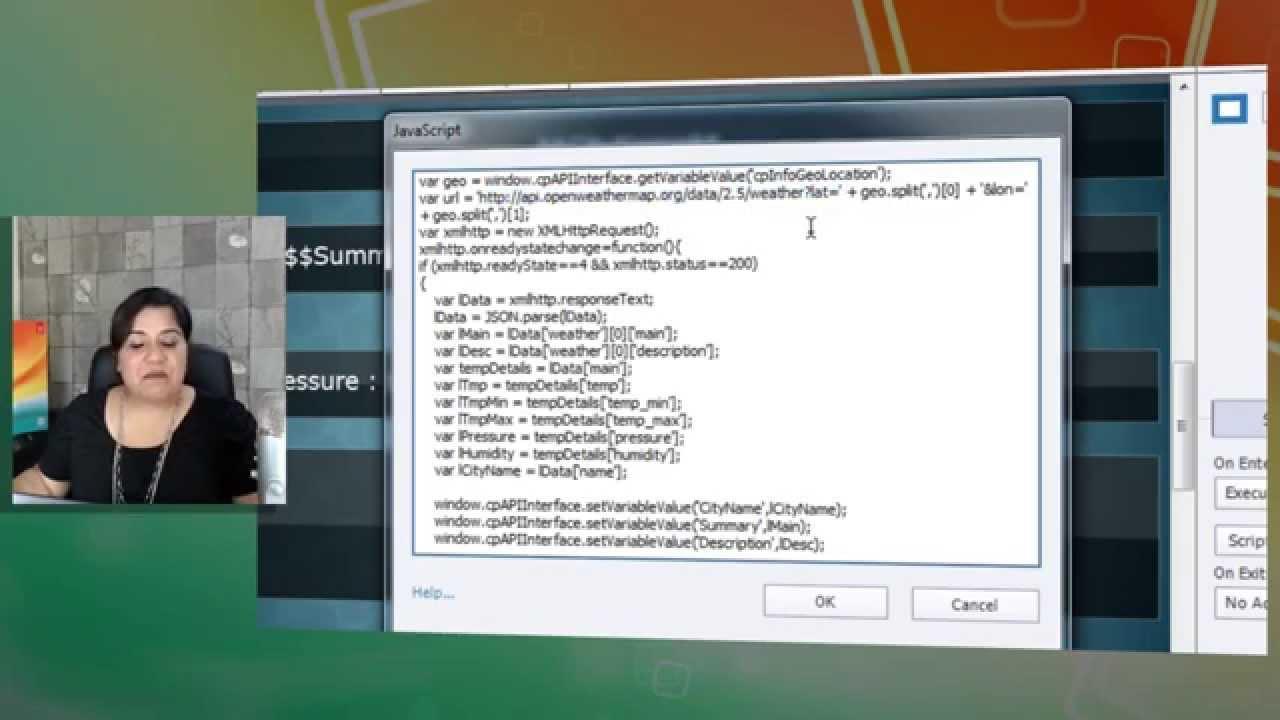 Common JavaScript Interface in Adobe Captivate 8