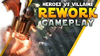NEW HEROES VS VILLAINS GAMEPLAY /w Reworked Boba Fett - Battlefront 2