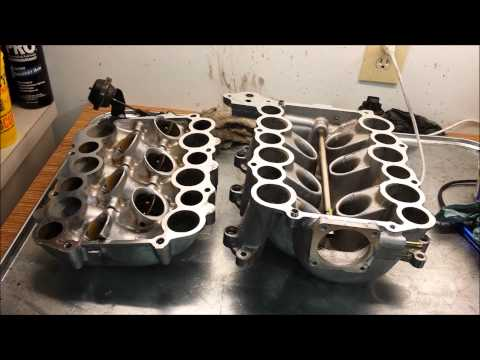 Isuzu Rodeo - Intake Manifold Cleaning