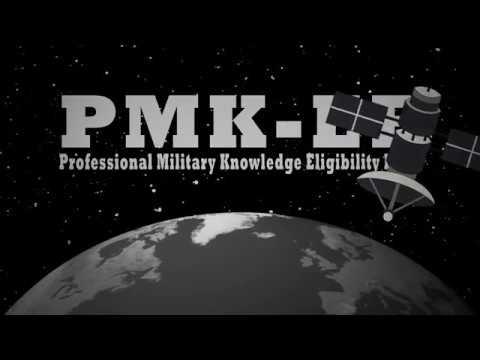 Professional Military Knowledge Eligibility Exam