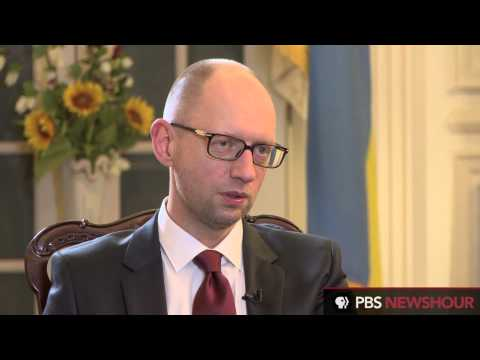 Ukraine prime minister doesn't trust Putin to implement peace plan