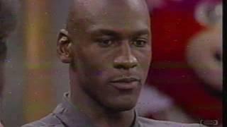 1991 Chicago Bulls Interview | Oprah Winfrey Show | 06-17-1991 | Michael Jordan