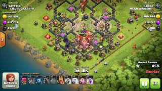 MAX LAVALOON vs TOWN HALL 12 | TH12 ATTACK STRATEGY | LOW HERO CLASH OF CLANS