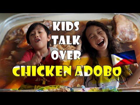 KIDS AND CHICKEN ADOBO | KIDS MUKBANG VERSION | Things to do during lockdown