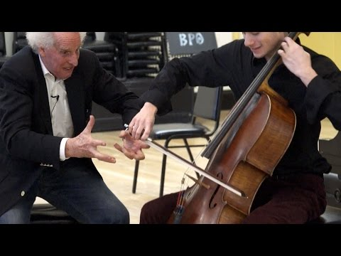 Benjamin Zander's Masterclass 2.6 (Part1) Elgar Cello Concer