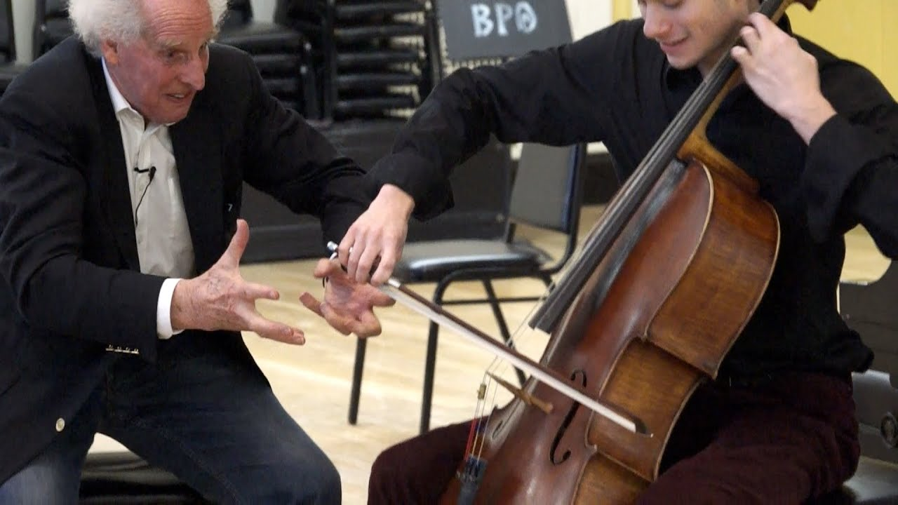 Benjamin Zander's Masterclass 2.6 (Part1) Elgar Cello Concerto in e minor Op. 85