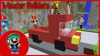 Master Builders Building Challenge with Cybernova - Minecraft