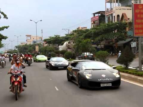 Đoàn Siêu Xe Car Passion tiến vào Đà Nẵng P3