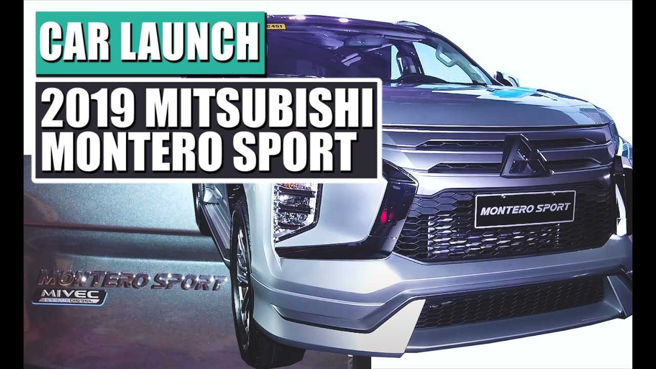 New 2019 Mitsubishi Montero Sport Launch