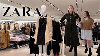 ZARA SHOP UP New Collection ZARA SHOPPING VLOG Fall Winter 2021
