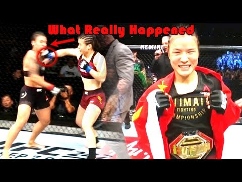 42 SECOND KO What Really Happened At UFC China (Weili Zhang Vs Jessica Andrade)