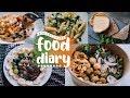 FOOD DIARY - Meine Ernährung (ausgewogen, Realistisch, Gesund Vs. Fast Food) // JustSayEleanor