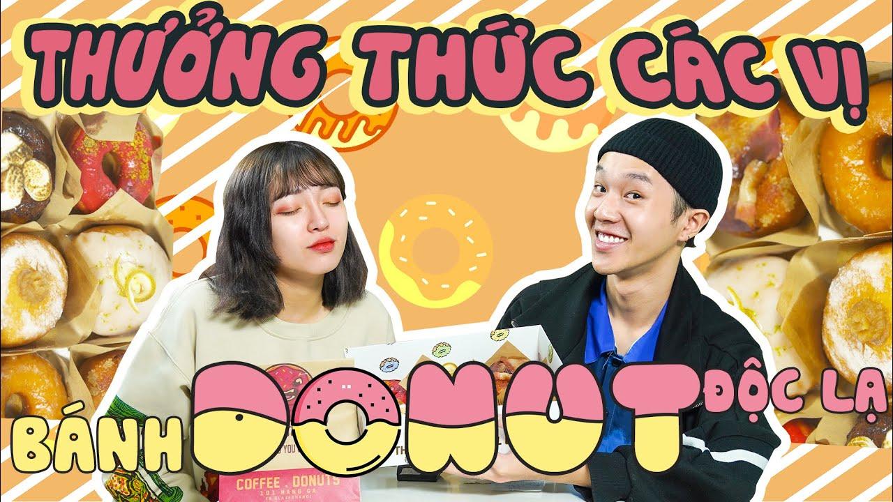 [XOÀI CHU REVIEW] Thưởng Thức Các Vị Bánh Donut Độc Lạ