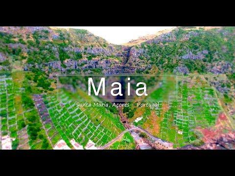 Maia, Santa Maria - Açores - Portugal 4K (Ultra HD)