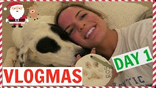 ITS FINALLY HERE! VLOGMAS DAY 1 | Casey Holmes