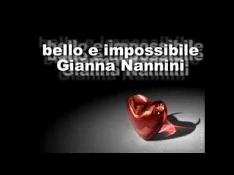 bello e impossibile g nannini youtube. Black Bedroom Furniture Sets. Home Design Ideas