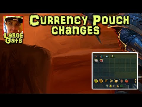 Currency Pouch changes