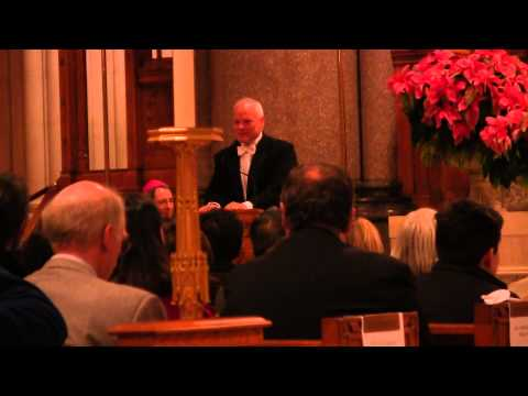 Pipe Organ Fail - The Cathedral Basilica of the Sacred Heart - Christmas Carol Sing