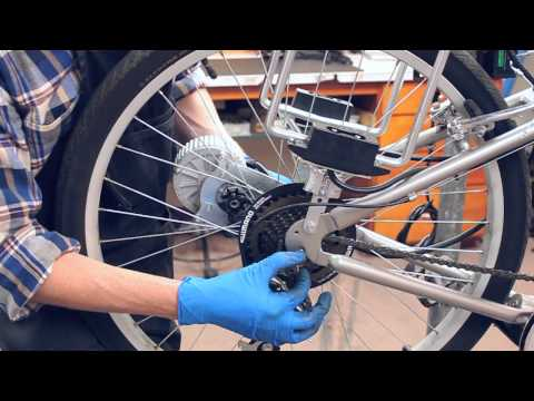 Service Guide: Currie Drive rear wheel