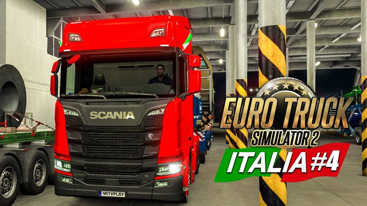 euro truck simulator 2 italia 4 ber die f hre nach. Black Bedroom Furniture Sets. Home Design Ideas