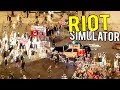 watch he video of RIOT SIMULATOR! BEING THE RIOT POLICE! TEAR GAS AND BATONS - Riot Civil Unrest Early Access Gameplay