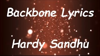 Download Hindi Video Songs - Hardy Sandhu - Backbone | Jaani | B Praak | Zenith Sidhu | Latest Romantic Song 2017 | Lyrics