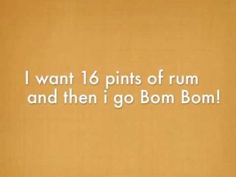 Sam and the Womp - Bom Bom Lyrics