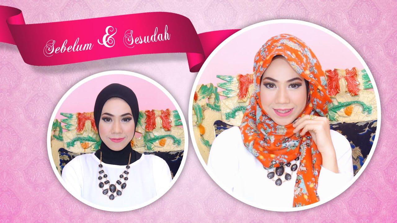 Cara Memakai Kerudung Terbaru 2015 Cara Memakai Hijab Simpel