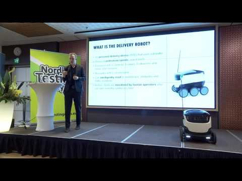 Kristjan Korjus (Starship Technologies) KEYNOTE: Building Smart and Reliable Self-Driving Robots