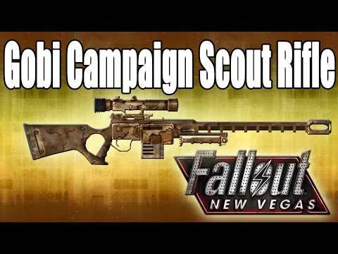 Fallout New Vegas Revisited (Unique Weapons) - Gobi Campaign Scout Rifle