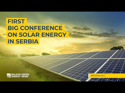 First big conference on solar energy in Serbia