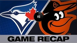 Mancini, bullpen lead Orioles to win   Blue Jays-Orioles Game Highlights 8/4/19