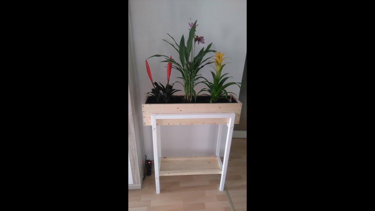 Pflanzkastenständer mit 4 Kästen