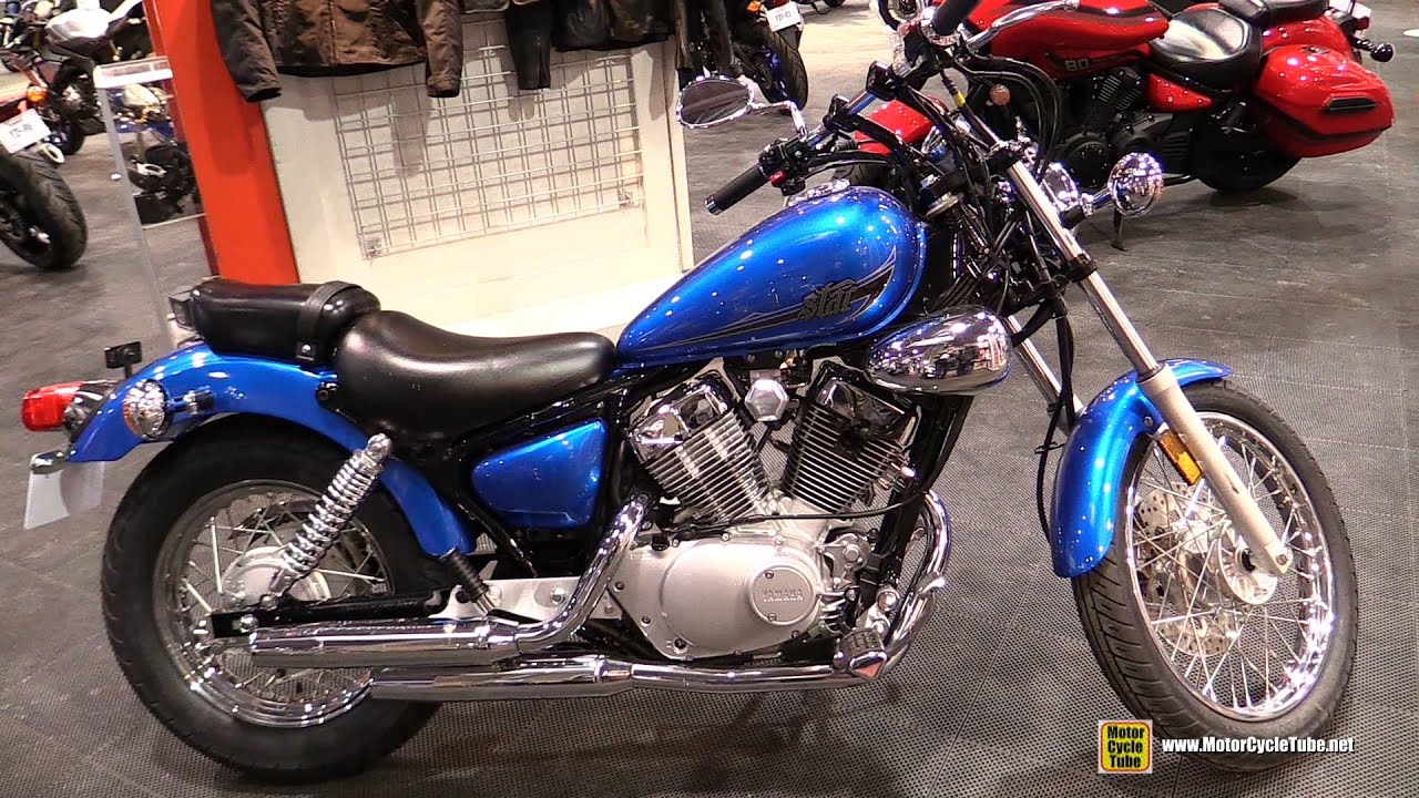 2015 Yamaha V Star 250 Walkaround 2015 Salon Moto De
