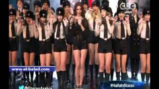 بالفيديو.. هيفاء تغير فستانها وتشعل مسرح ستار أكاديمي بأغنية «كبة»
