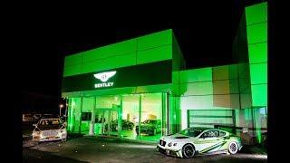 Bentley Budapest megnyitó - Porsche Inter Auto Hungaria