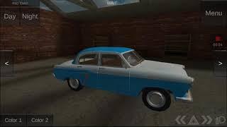 Russian classic car simulator car 1